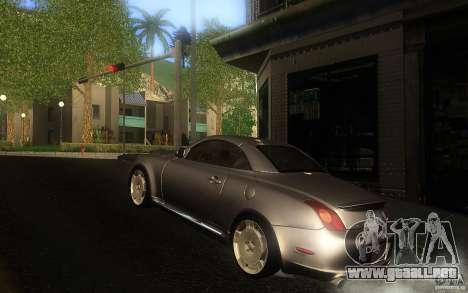 Lexus SC430 para visión interna GTA San Andreas