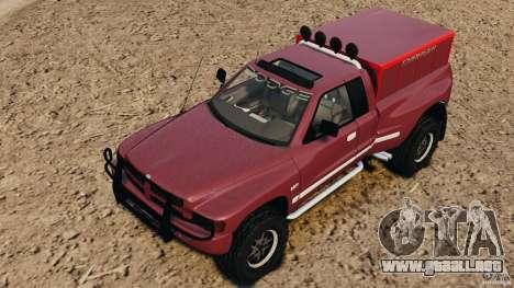 Dodge Ram 2500 Army 1994 v1.1 para GTA 4 vista superior