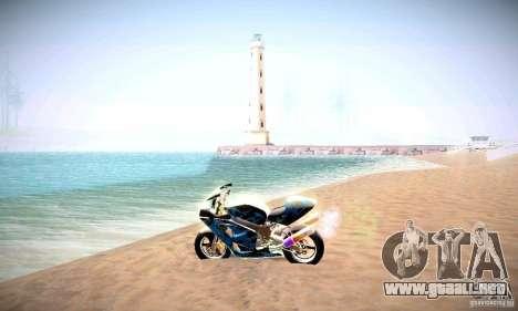 ENBSeries por _SilveR_ v2.0 para GTA San Andreas sucesivamente de pantalla