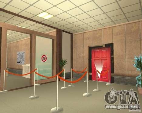Banco en Los Santos para GTA San Andreas sexta pantalla