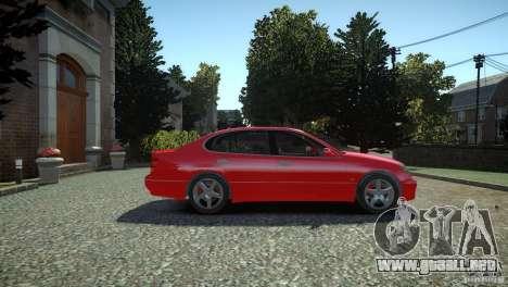 Toyota Aristo para GTA 4 visión correcta