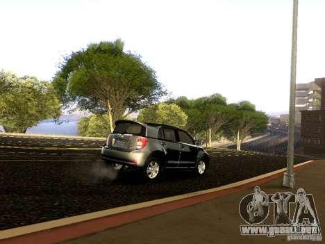 Scion xD para vista inferior GTA San Andreas