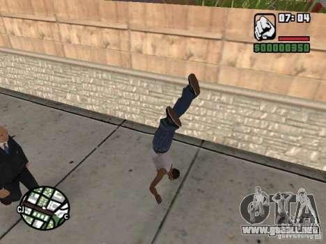PARKoUR para GTA San Andreas octavo de pantalla