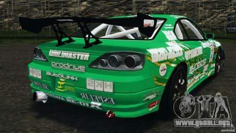 Nissan Silvia KeiOffice para GTA 4 Vista posterior izquierda