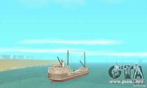 Steam Freighter para GTA San Andreas left