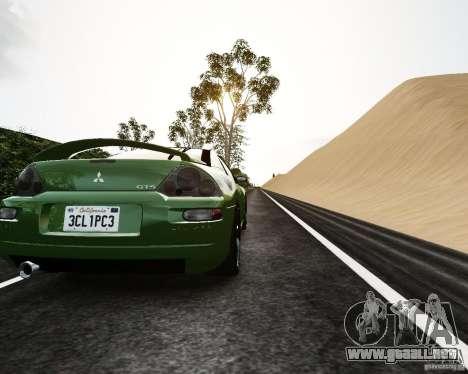 Mitsubishi Eclipse GT-S para GTA 4 visión correcta