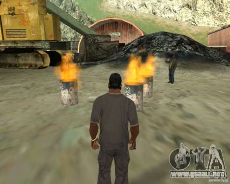 Barney sin hogar para GTA San Andreas quinta pantalla
