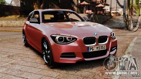 BMW M135i 2013 para GTA 4