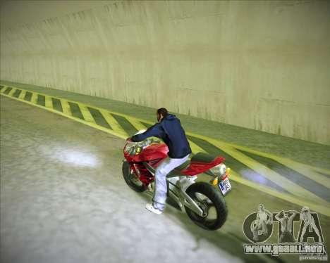 Honda CBR600RR 2005 para GTA San Andreas left