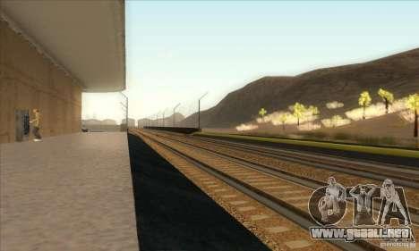 Russian Rail v2.0 para GTA San Andreas séptima pantalla