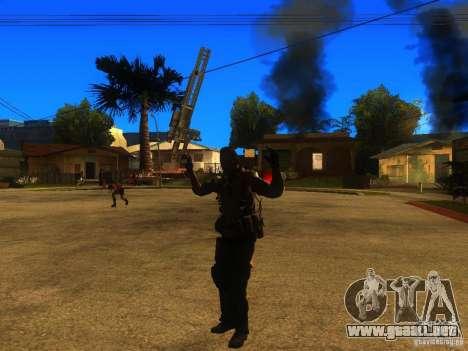 Animation Mod para GTA San Andreas octavo de pantalla