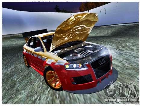 Audi RS4 Calibri-Ace para la visión correcta GTA San Andreas