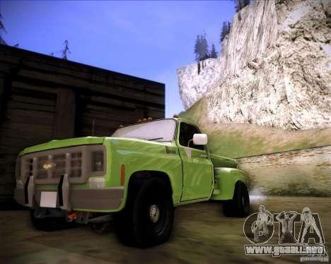 GMC 80 para GTA San Andreas left