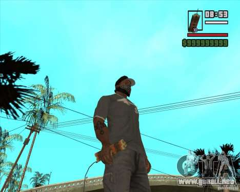 Call of Juarez Bound in Blood Weapon Pack para GTA San Andreas quinta pantalla