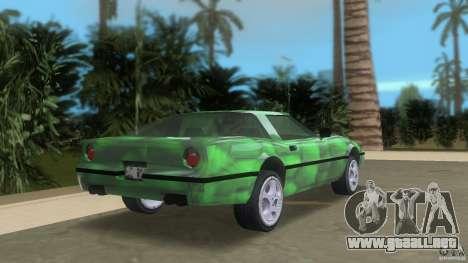 Reptilien banshee para GTA Vice City vista lateral izquierdo