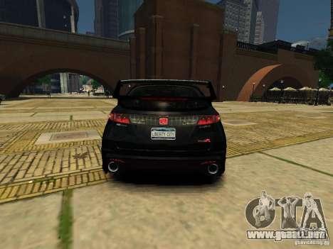 Honda Civic Type R Mugen para GTA 4 Vista posterior izquierda