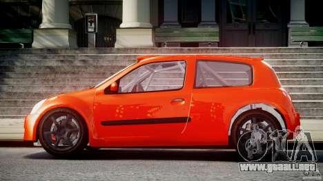 Renault Clio Sport para GTA 4 left