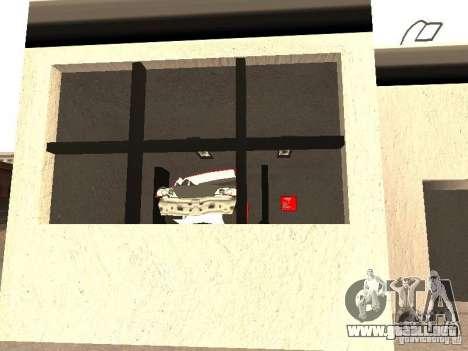 Garaje GRC en SF para GTA San Andreas quinta pantalla