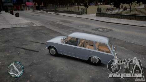 VAZ 2102 para GTA 4 vista hacia atrás