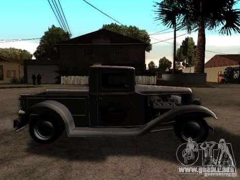 Ford Farmtruck para la visión correcta GTA San Andreas