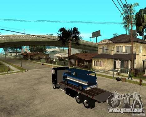 Peterbilt para GTA San Andreas left