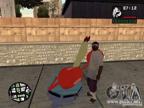Don Cangrejo para GTA San Andreas séptima pantalla