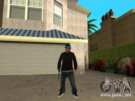Black Rifa SkinPack para GTA San Andreas tercera pantalla
