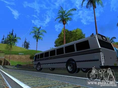 Prison Bus para visión interna GTA San Andreas