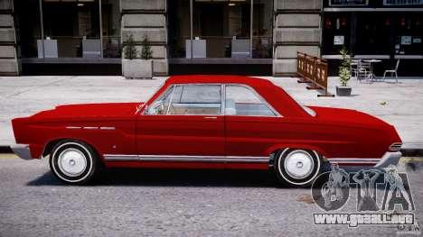 Ford Mercury Comet 1965 para GTA 4 Vista posterior izquierda