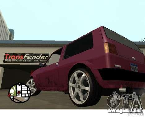 Ruedas del juego Juiced 2 Pack 1 para GTA San Andreas tercera pantalla