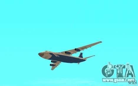 El an-124 Ruslan para la visión correcta GTA San Andreas