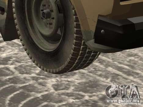 IZH 27175 Winter Edition para la visión correcta GTA San Andreas