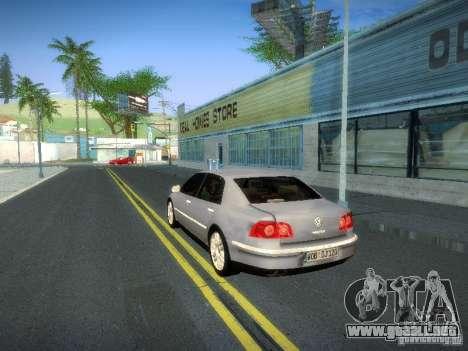 Volkswagen Phaeton W12 para visión interna GTA San Andreas