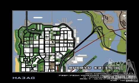 Calle lucha v2 para GTA San Andreas sucesivamente de pantalla