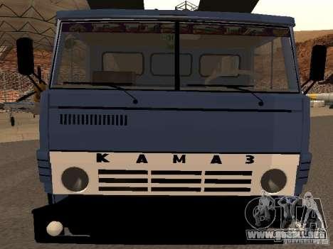 Camión KAMAZ para la visión correcta GTA San Andreas