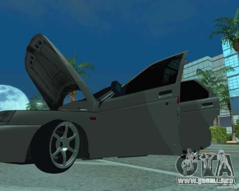 VAZ 2110 para vista lateral GTA San Andreas