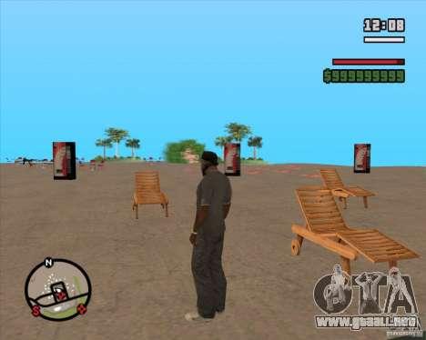 CJ-alcalde para GTA San Andreas sucesivamente de pantalla