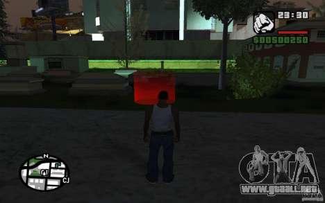 La misión de la madre de CJ para GTA San Andreas segunda pantalla