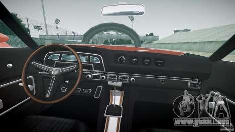Mercury Cyclone Spoiler 1970 para GTA 4 visión correcta