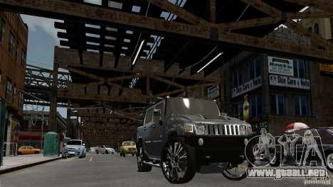 Hummer H2 SUT para GTA 4 visión correcta