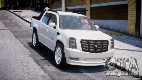 Cadillac Escalade Ext para GTA 4