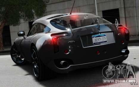 TVR Sagaris MKII v1.0 para GTA 4 left