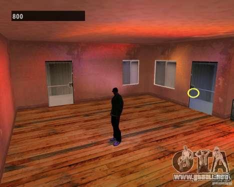 Interiores ocultos 3 para GTA San Andreas quinta pantalla