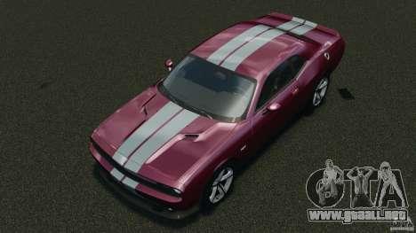 Dodge Challenger SRT8 392 2012 para GTA 4