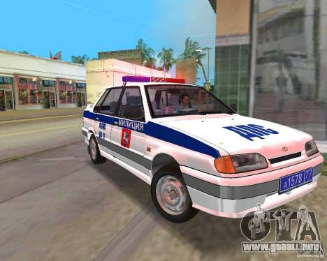 VAZ 2115 DPS para GTA Vice City