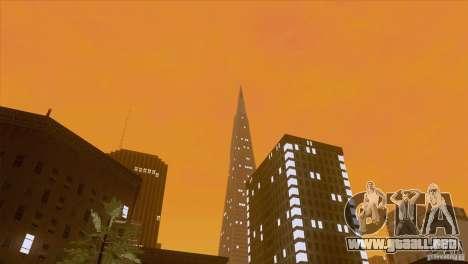 BM Timecyc v1.1 Real Sky para GTA San Andreas sexta pantalla