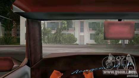 Vista desde la cabina para GTA Vice City segunda pantalla