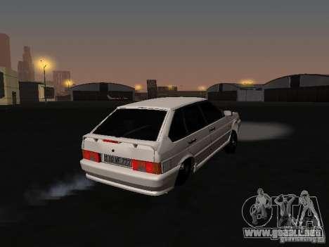 ВАЗ 2114 Bully para la visión correcta GTA San Andreas