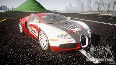 Bugatti Veyron 16.4 v1 para GTA 4