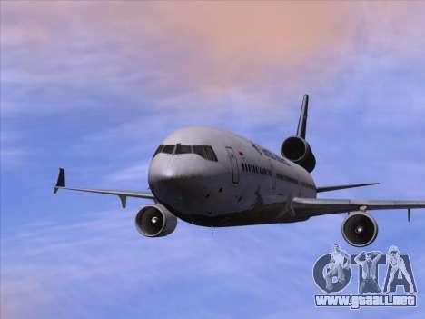 McDonnell Douglas MD-11 Garuda Indonesia para vista inferior GTA San Andreas